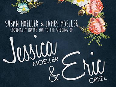 Creel Wedding Invitations